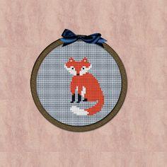 Instant download Mini cross stitch design Kawaii by Minihoop, $3.50
