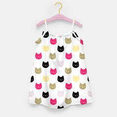 Cats Girl's Dress, Live Heroes