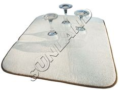 Sinland 40 см х 46 см Из Микрофибры Блюдо Сушки Мат Для Кухни Из Микрофибры Подушка Pad XL
