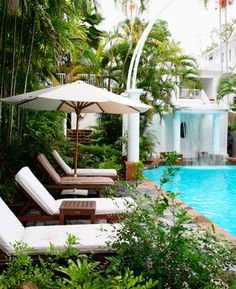 Sebel Reef House - Palm Cove, Australia! Love it here, stayed here on the final leg of my honeymoon... Amazing!