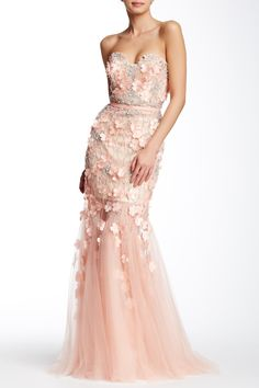 Strapless Trumpet Gown by TERANI COUTURE on @HauteLook $299.97 $1,210.0075% Off Evening Dresses, Prom Dresses, Formal Dresses, Trumpet Gown, Terani Couture, Dance The Night Away, Strapless Dress Formal, Gowns, 21st Century