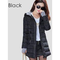 Hooded Long Length Jacket
