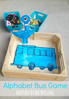 Alphabet Bus Game Inspired by Mo Willems from The Educators' Spin On it