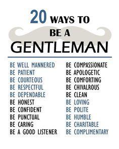 gentlemen how to