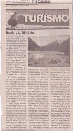 Cruzando a Patagonia de moto – Estância Sibéria – Publicado em 07 de dezembro de 2006