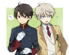 aldnoah zero. slain and inaho switched outfits