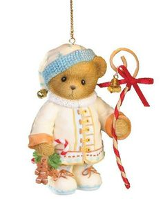 "Cherished Teddies """"May Your Holidays Be Sweet"""" Hanging Ornament by Cherished tddies, http://www.amazon.com/dp/B006E53YNK/ref=cm_sw_r_pi_dp_yc.Wqb0NNXZ2Y"