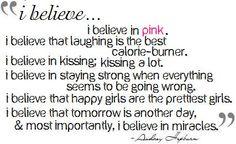Audrey Hepburn Quote-love this quote! believ, life, quotes, audrey hepburn, wisdom, inspir, favorit quot, thing, live