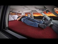 Sleep Comfortably In Your SUV Or Truck With This Kickstarter Success car camping Suv Camping, Camping Hacks, Camping Trailers, Camping Hammock, Truck Topper Camping, Motorcycle Camping, Camping Guide, Beach Camping, Truck Camper