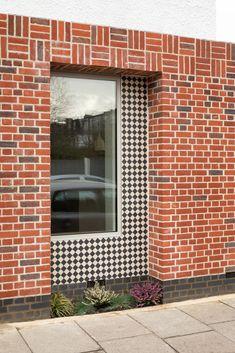 Edwardian House, Black Tiles, Wimbledon, Large Windows, Harp, New Builds, Modern Architecture, Townhouse, Architects