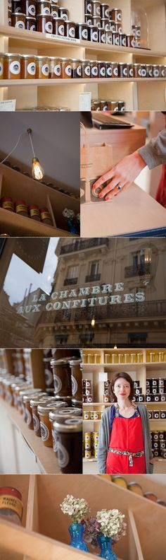 La chambre aux confitures 9 Rue des Martyrs, 75009 Paris - ou- 60 rue Vieille du Temple, 75003 Paris