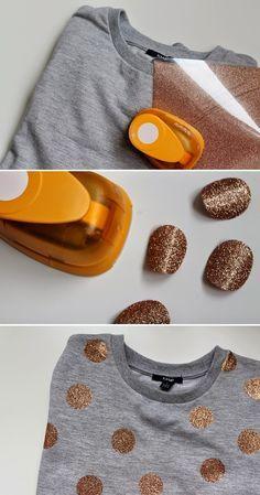 L'idée DIY : Customiser ses vêtements. - Customize her clothes.