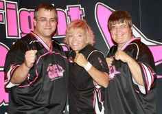 Sensei Mark, Sensei Kym Rock, Sensei Cassandra at Fight Like A Girl seminar in Greensburg, PA  09/06/2012