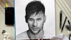 Drawing Neymar Jr - By Juan Andres