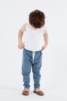 Gray Label SS15 Tanktop & Summer Pant #kids #children #kinderen #kinderkleding #webshop #organic #organicclothes #ecofriendly #graylabel #graylabelkids