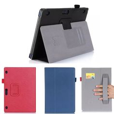 14.11$  Buy now - http://aliko4.shopchina.info/go.php?t=32613440033 - PU leather Slim-book Stand Magnetic Flip Cover Card Holder Hand Strap Case  For Lenovo Tab 2 A10-70 Tab2  A10-70F 10.1 inch 14.11$ #SHOPPING