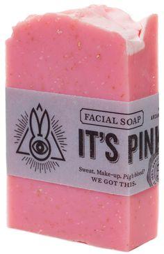 ARCANE BUNNY SOCIETY IT'S PINK, MAMA SOAP $7.00 #arcanebunnysociety #soap #vegan