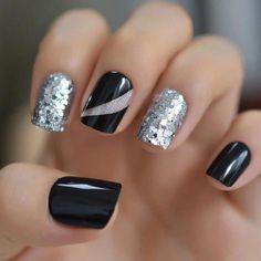 #FrenchManicureGelNails Winter Nail Designs, Winter Nail Art, Winter Nails, French Tip Nail Designs, Glue On Nails, Gel Nails, Nail Polish, Nail Nail, Uñas Diy