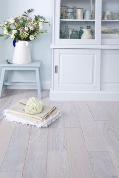 Fresh, light wood flooring from UK Flooring Direct