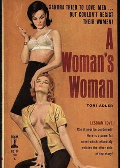 Semi-gloss vintage lesbian pulp novel poster. A great gift for yourself or somebody else. Looks great on your wall!