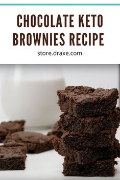 The chewy, gooey, chocolatey treats are hard to beat. With these low-carb, keto and paleo friendly brownies, you won't even notice the ingredient swaps! This simple recipe uses only 6 ingredients and takes about 30 minutes to make.