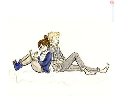 Cath and Levi <3 (Fangirl - Rainbow Rowell)