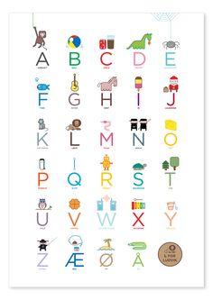 Alphabet poster - katinkarettfrem