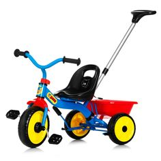 Vehicule pentru copii :: Trotinete si triciclete :: Triciclete :: Tricicleta cu maner Bamse Nordic Hoj 2 Colours, Kids Toys, Check, Childhood Toys, Children Toys, Baby Toys