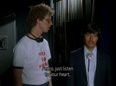 pedro just listen to your heart