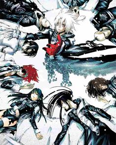 D. Gray-man.  I LOVE IT! It reminds me of FullMetal, with some of the powerful skills the characters posses, however it also combines more melee aspects with it as well. The emotions are extremely funny too!  Anime points: 10/10