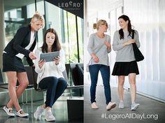 Sporttiset kengät sopivat myös mekon tai hameen kaveriksi! #legero #sportyshoes #shoes #comfortshoes