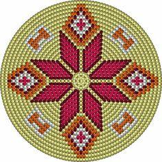 Marvelous Crochet A Shell Stitch Purse Bag Ideas. Wonderful Crochet A Shell Stitch Purse Bag Ideas. Tapestry Crochet Patterns, Crochet Mandala, Bead Loom Patterns, Cross Stitch Patterns, Crochet Shell Stitch, Crochet Chart, Bead Crochet, Diy Crochet, Mochila Crochet