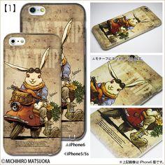Steampunk illust iPhone Case: Michihiro Matsuoka