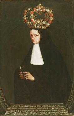 Portrait of the Reverend Mother Maria Antonia de Rivera, (oil on canvas) Portrait, Oil On Canvas, Artist, The Rev, Bride Of Christ, Philadelphia Museum Of Art, Image, Latin American Art, Nuns