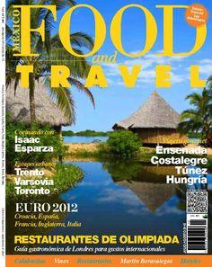 Portada Julio 2012  #foodandtravelmx