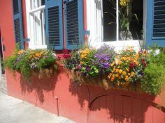 Charleston Flowerbox