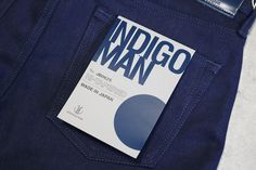 The latest from Japan Blue Jeans - http://hddls.co/japan-blue-indigo-man