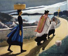 Figuration Feminine: Elsie Payne Palmer (1884-1971) A Decent Burial (1942), Elsie Payne Palmer