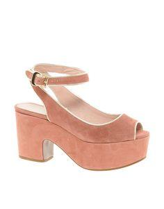 KG Carnation Peep Toe Platform Sandals