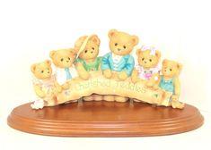 Large Cherished Teddies Retailer Figurine Cherished Retailer #829870