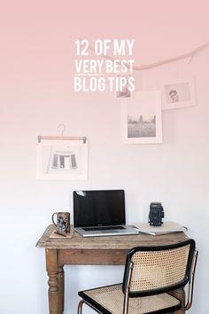 12 of my Best Blog Tips – lark & linen