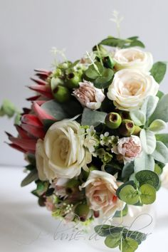 Stunning Extra Large Bouquet Artificial Australian Native Rosalie Rustic Wedding