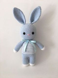 Crochet Amigurumi Bunny Pattern English only