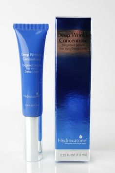 Hydroxatone Deep Wrinkle Concentrate .25 oz (Dlx Travel Size) NIB by Hydroxatone. $9.99. Helps reduce the appearance of creases and wrinkles quickly after application. Helps give you a smoother-looking complexion. Hydroxatone Deep Wrinkle Concentrate targets deep creases and wrinkles. The high precision applicator tip allows for targeted use for optimal effectiveness. Dermatology and allergy tested to be non-irritating.