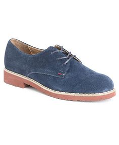 Tommy Hilfiger Oxfords. love all the color combos!