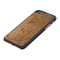 The Griffin Creature Carved® Cherry iPhone 6 Case