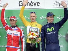 Simon Spilak (Katusha) was Froome's closest rival heading into the final stage and the Slovenian ended the day fifth, seven seconds shy of Froome but enough to solidify the second step on the podium ahead of Rui Costa (Movistar).