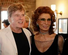 Robert Redford & Sophia Loren