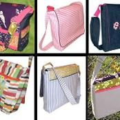 Messenger Bag--This website has tons of patterns for everything--children's clothes, tote bags, dolls, etc.
