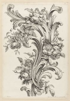 Acanthus Leaf Design, Collection of Cooper Hewitt, Smithsonian Design Museum
